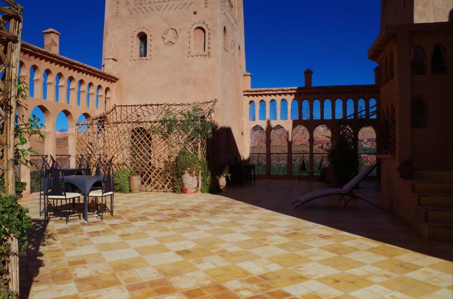 terrasse panoramique - kasbah titrit