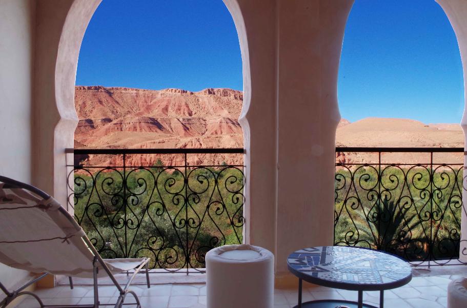 terrasse privée - kasbah titrit
