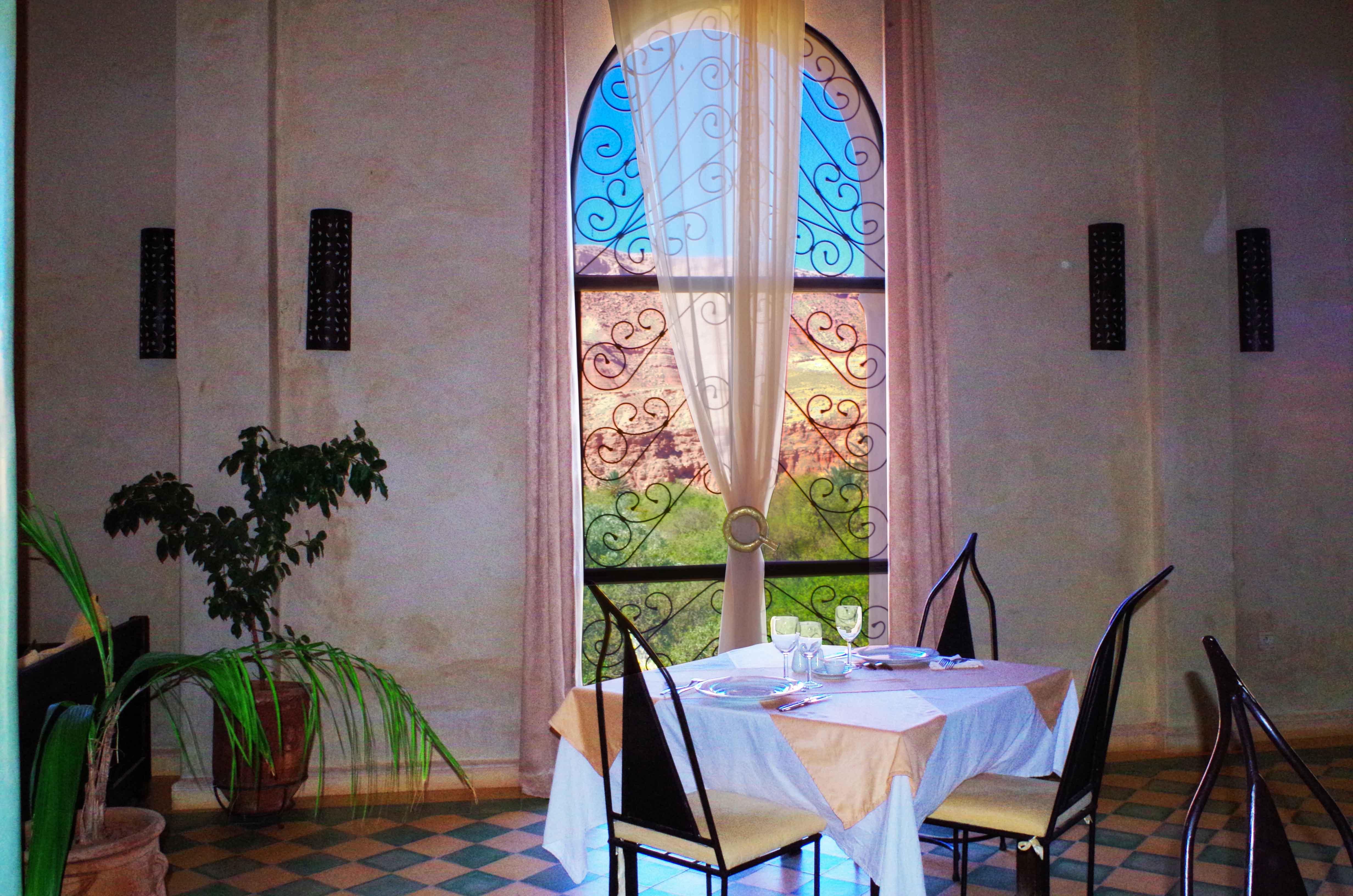 salle à manger - kasbah titrit