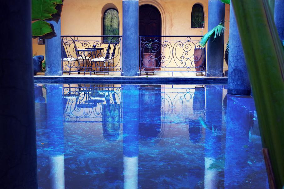 piscine chauffée - kasbah titrit