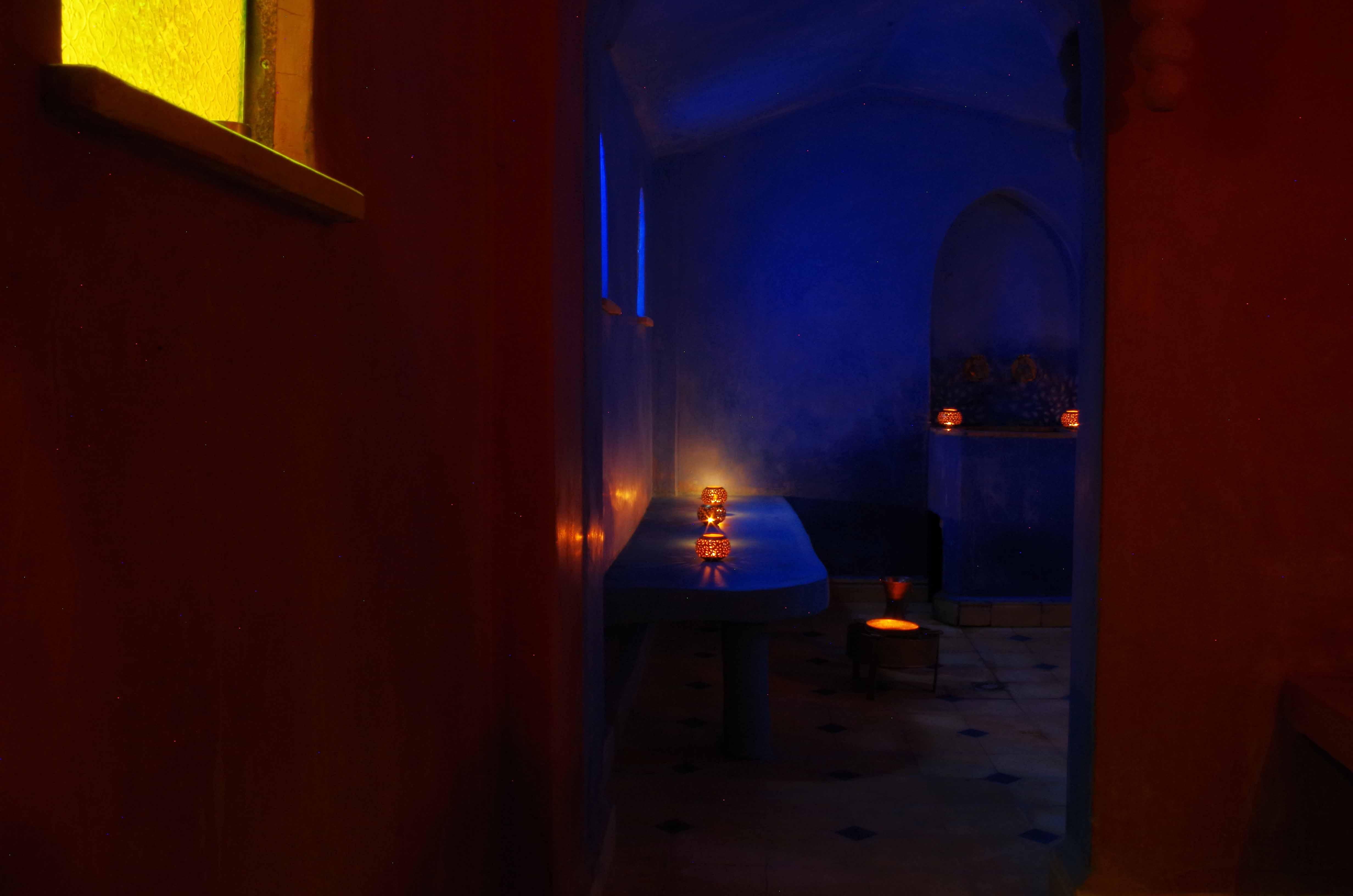 hammam-bleu - kasbah titrit