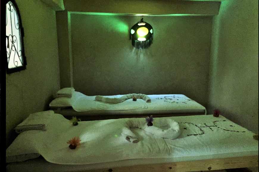 salle de massage bas - kasbah titrit